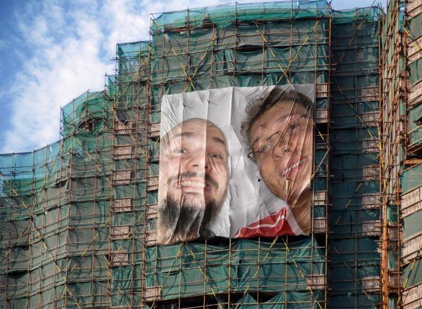 Plakat Tommi und Lunzi