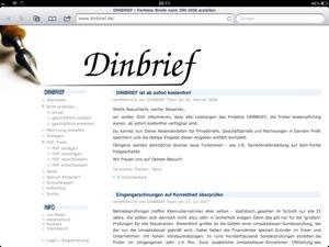 Dinbrief Online Schreiben Erstellen Webninja Tech Und