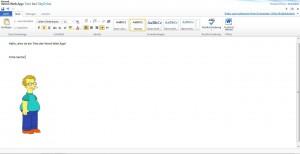 Word App in SkyDrive