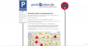 Gratisparken.de - kostenlose Parkplätze finden