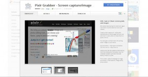 Pixlr Grabber Screenshot Werkzeug