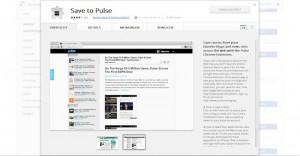 Pulse - Google Chrome Erweiterung