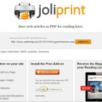 Joliprint - PDF und Print Service