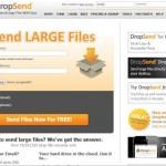 Dropsend - große E-Mails versenden