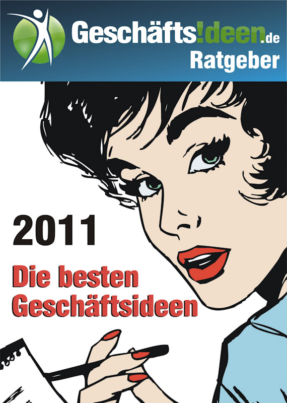 Titelblatt Ratgeber Geschäftsideen.de 2011