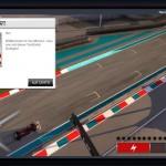 Formula 1 Online Start Testfahrt