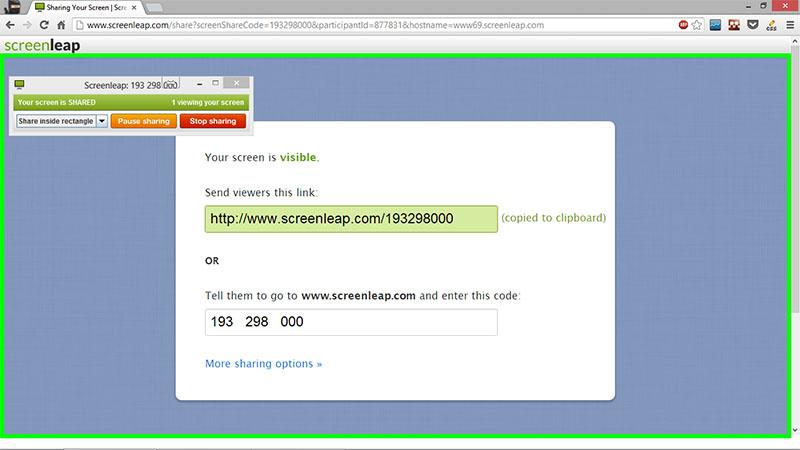 Screenleap Desktop Host