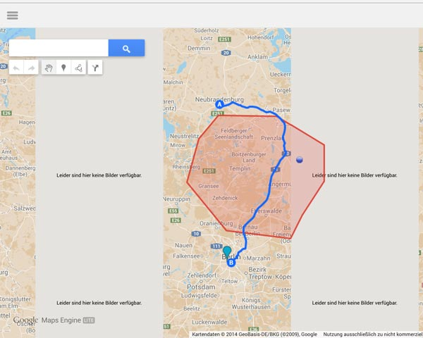 Google Maps Engine unter Android