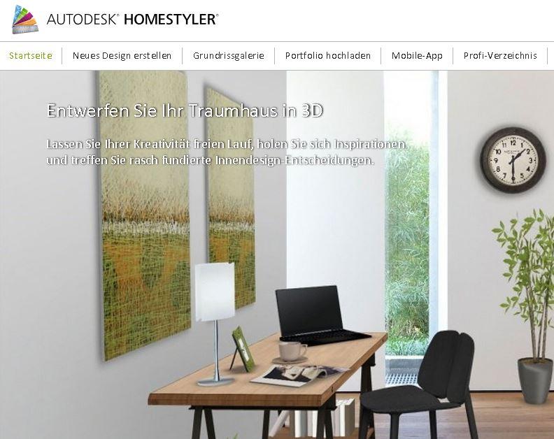 autodesk homestyler webseite