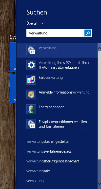 Windows-Suche